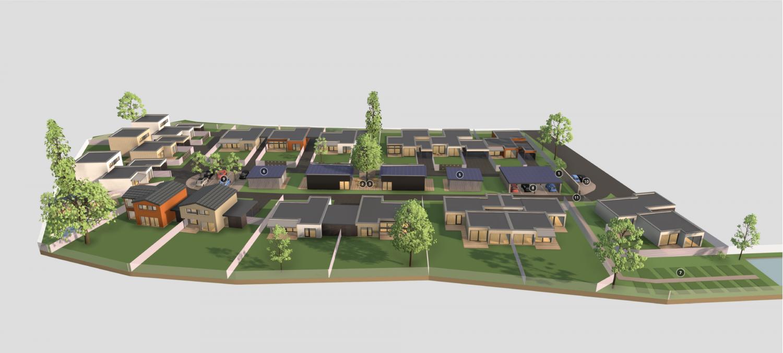 Zeigt Einfamilienhäuser in der Steiermark von Ari GRIFFNER